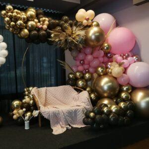 Balonowe dekoracje, dekorowanie sali, dekorowanie imprez - atrakcje na imprezę premium