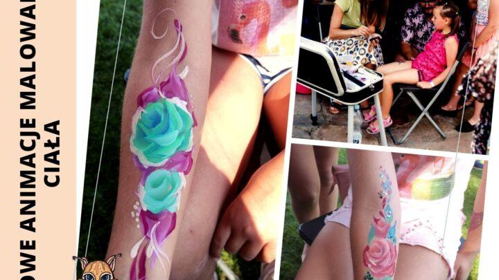 malowanie twarzy_ malowanie rąk - super atrakcje na impreze