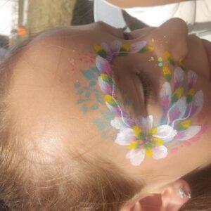 eye design kwiaty