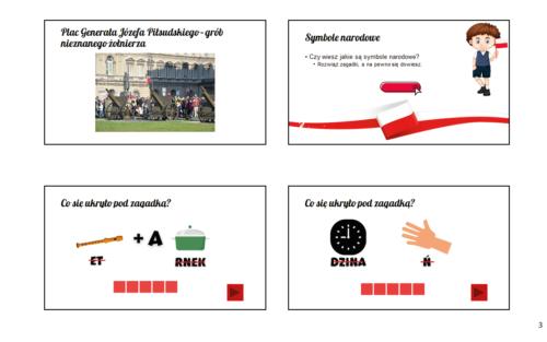 slajdy, prezentacja, karty pracy o Polsce