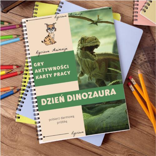 okładka_dzień_dinozaura_karty_pracy_aktywnosci_gra_planoszowa